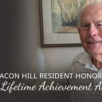 Resident Receives Lifetime Achievement Award
